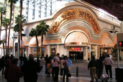 Freemont Street entrance to the hotel