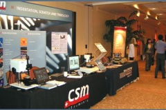 View of the commercial exhibit
