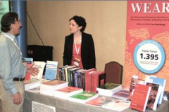Elsevier's booth