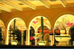 Bellagio Hotel, near the registration area