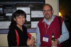 Peter Blau with former WOM Steering Committee member Christina Lim